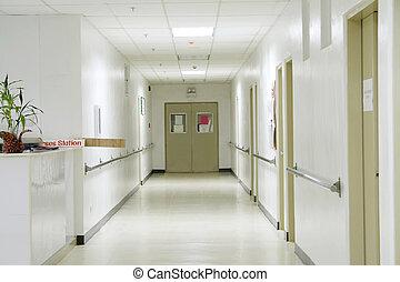Hallway - Hospital hallway