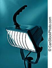 projector in cold beams