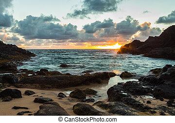 Halona Cove Sunrise 2