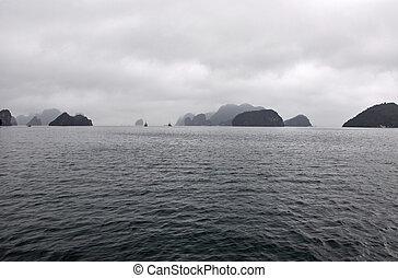 halong 海灣, 越南