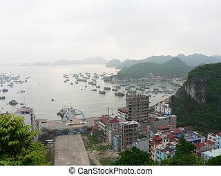 halong 海灣, vietnam.