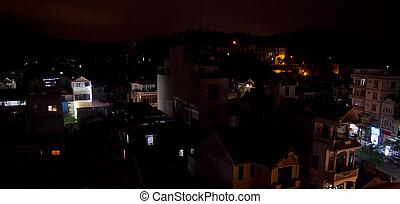 Halong city Night scene