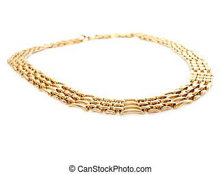 halsband, gyllene