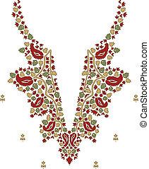 halskæde, mode formgiv