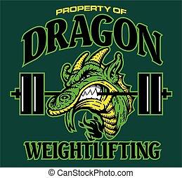 haltérophilie, dragon