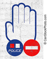 Halt police