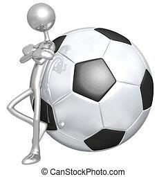 haltung, fußballfootball