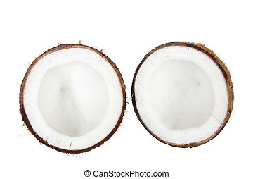 Halves of Coconut