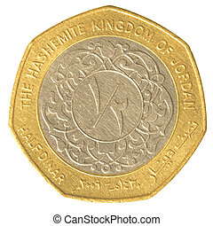 halvt, jordanier, dinar, mynt