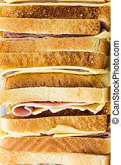 Ham Cheese Sandwiches