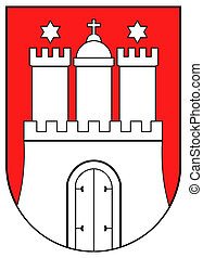 Hamburg coat of arms