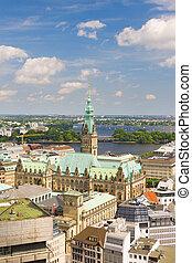 Hamburg in the summer