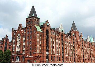 Hamburg industrial architecture