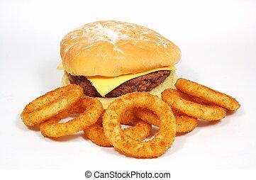 hamburger, anelli