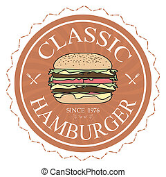 hamburger, classico