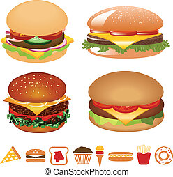 hamburger, collection