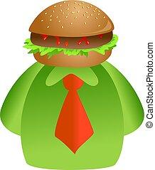 hamburger, figure