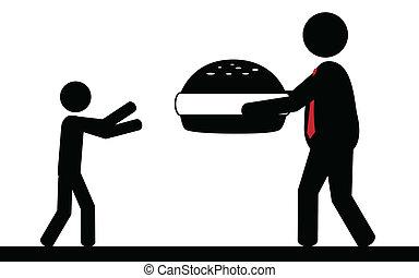 Hamburger for children