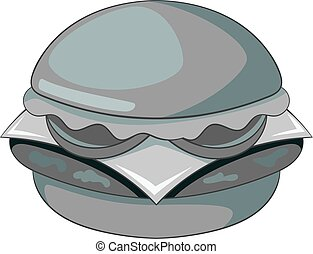Hamburger icon monochrome