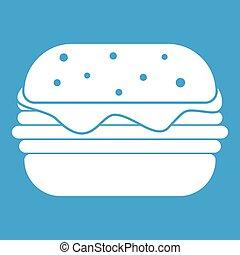 Hamburger icon white