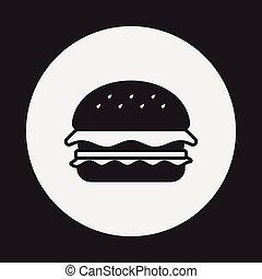 hamburger, ikone