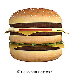 Hamburger - image of hamburger.