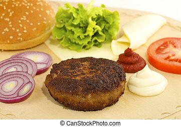 hamburger ingredients