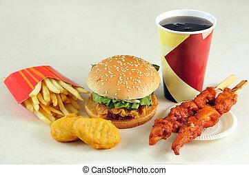 hamburger, mocne-jadło