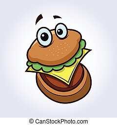 hamburger, personagem