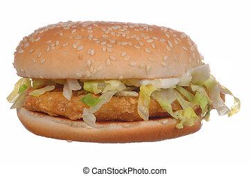 hamburger pollo