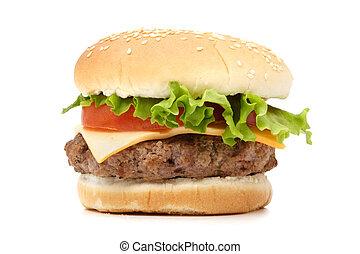 hamburger, swojski