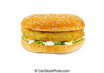 hamburger, végétarien