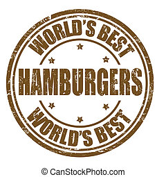 Hamburgers stamp