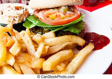 hamburguesa de queso