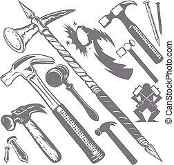 hamer, verzameling