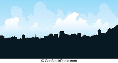 Hamilton orizzonte ontario cartone animato citt for Piani casa ontario