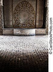 hammam-e, ali, gholi, agha, dějinný, koupel, esfahan, isfahan, írán