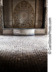 hammam-e, ali, gholi, agha, histórico, banho, esfahan, isfahan, irã