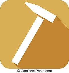 hammer flat icon