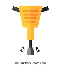 hammer hidraulic tool icon