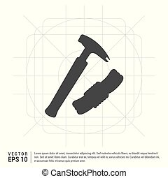 Hammer Tool Icon