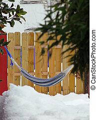 Hammock in the Snow