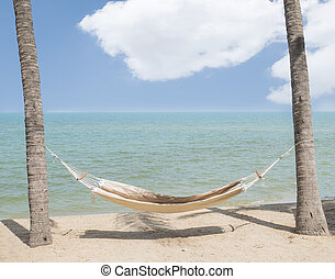 Hammock on the beach 1