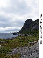 Hamnoy, Lofoten, Norway - Hamnoy is a small fishing village...