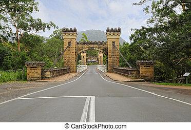 Hampden Bridge Kangaroo Valley - Hampden Bridge in the...