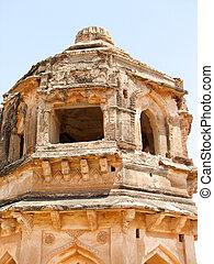 ancient ruins of Hampi - Band Tower - Hampi, India - ...
