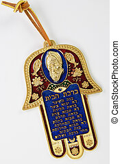 Hamsa hand amulet