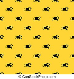 Hamster pattern vector
