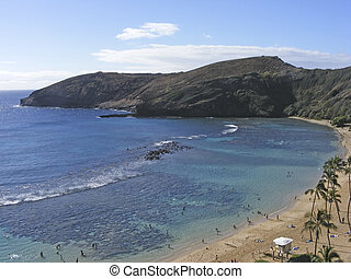 Hanauma Bay, Honolulu, Oahu, Hawaii, 1