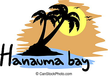 Hanauma bay sun - Creative design of hanauma bay sun